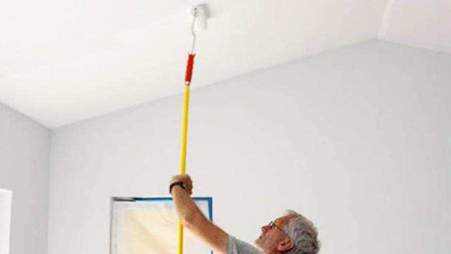 Como pintar parede e forro de gesso?