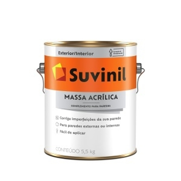 MASSA ACRÍLICA USO EXTERNO GALÃO 5,7KG