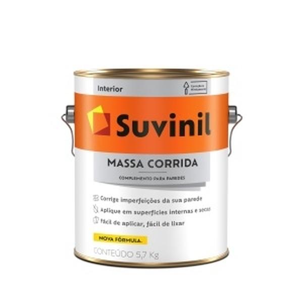 MASSA CORRIDA USO INTERNO GALÃO 5,7KG