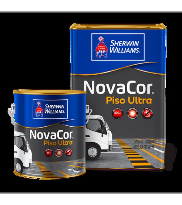 NOVACOR PISO ULTRA 18 LITROS E GALÃO 3,600ML